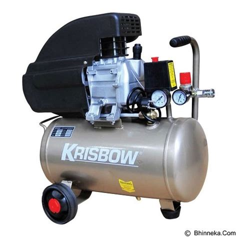 Harga Air Compressor jual krisbow air compressor 2hp 24l 8bar 1ph direct