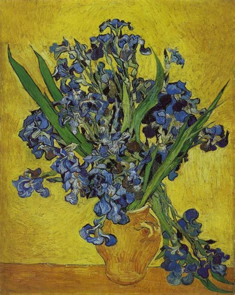 painting reproductions vincent gogh painting irises