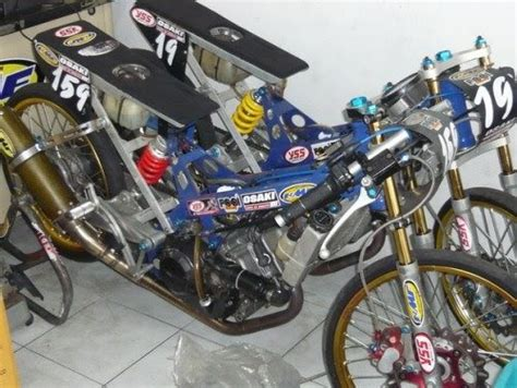 Lu Tembak Motor Jupiter Z sparepart motor modification custom drag modif drag