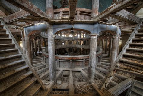 abandoned spaces 18 chilling photographs of abandoned buildings around europe