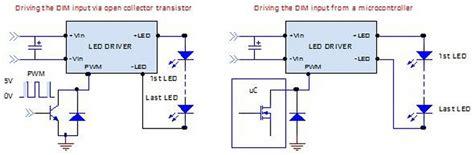 pwm input capacitor ld24bc series led driver