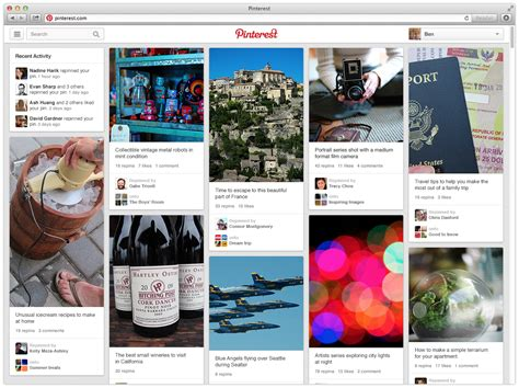 pinterest app layout the best social media platforms for your business