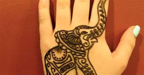 elephant hand henna tattoo kona henna studio elephant henna by kona henna
