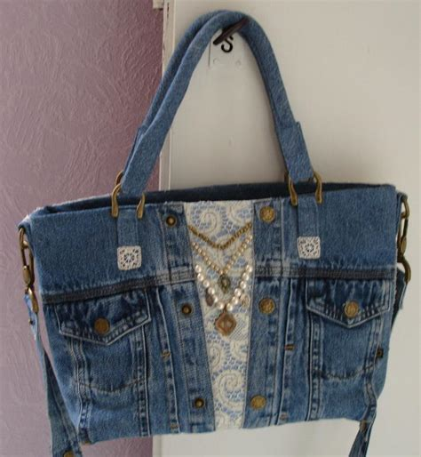 Project Handbag you to see blue jean handbag by metzy
