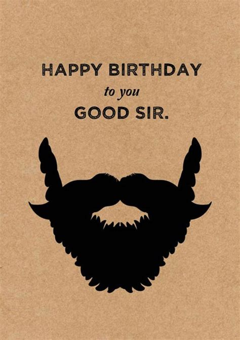 the design court happy birthday sir greeting card