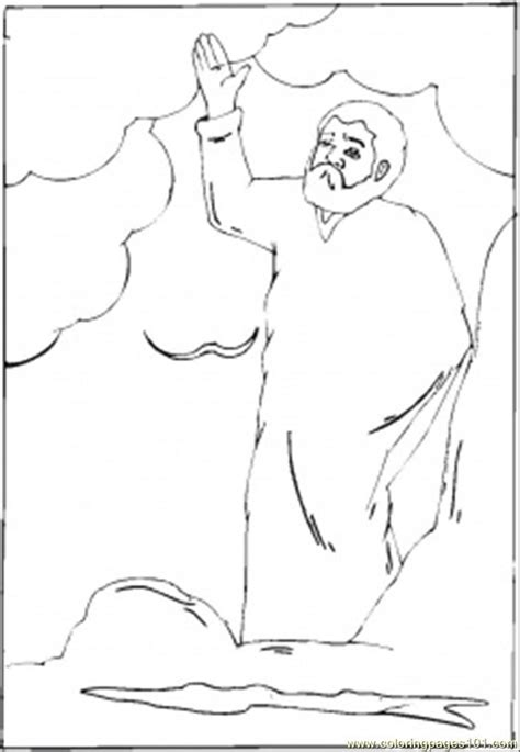 free creation story coloring pages
