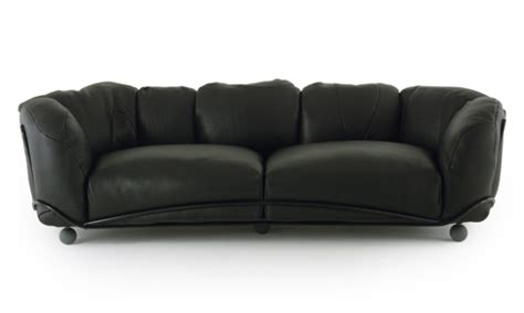 fluffy couches big fluffy sofas corbeille sofa by edra
