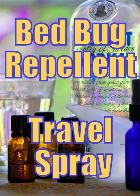 bed bug repellent travel spray  bed bugs  bay naturally tips genius ideas bed bug