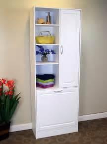 types tall bathroom storage