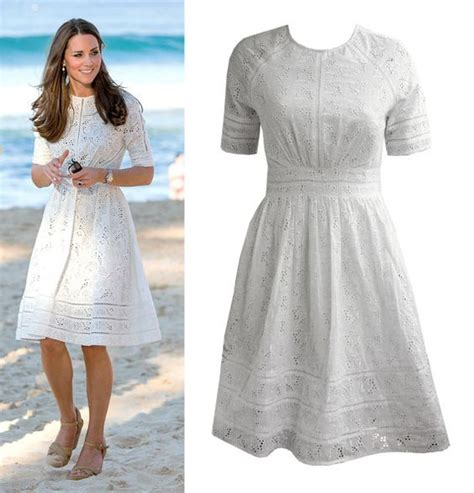 Broderie Dress duchess kate kate middleton and etsy on