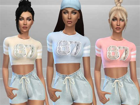 tsr sims 4 clothes sports puresim s gym outfit