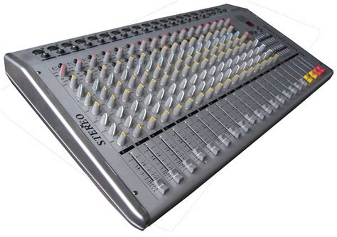 Audio Mixer Radio china professional audio mixer stereo mixing console