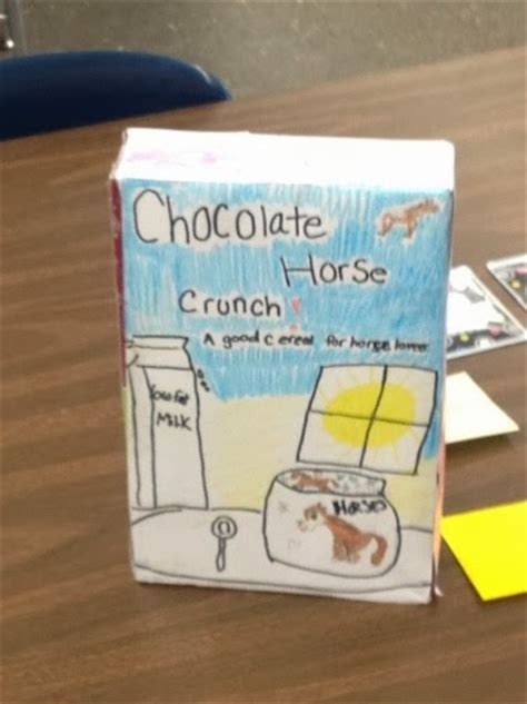 cereal box book reports fourth grade tuning into fourth grade nonfiction cereal box book report