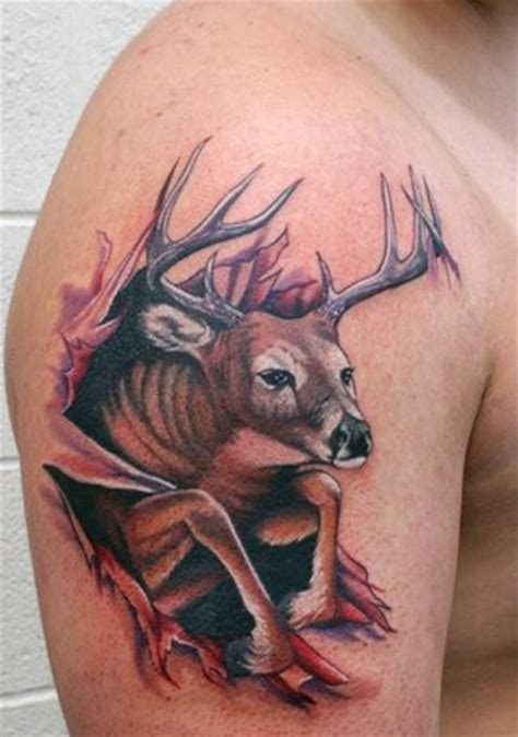 tribal rip tattoos 37 tribal deer tattoos ideas and designs