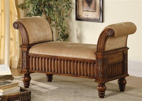 Living Room Furniture Bench Bench Furniture Ideas Backless Bench With Rolled Arms