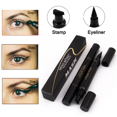 My Eye Liner Eyeliner Bpom brand makeup miss liquid eyeliner pencil waterproof eye liner black color eye pencil st