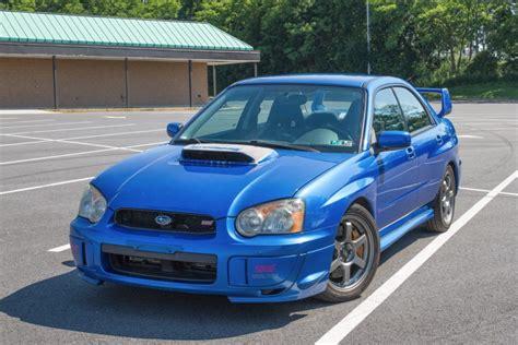 Subaru Impreza Wrx 2004 For Sale by Original Owner 2004 Subaru Impreza Wrx Sti For Sale On Bat