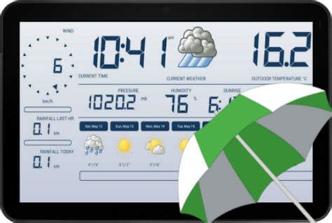 the weather channel app for android tablet convert your android tablet into beautiful weather station technical tips