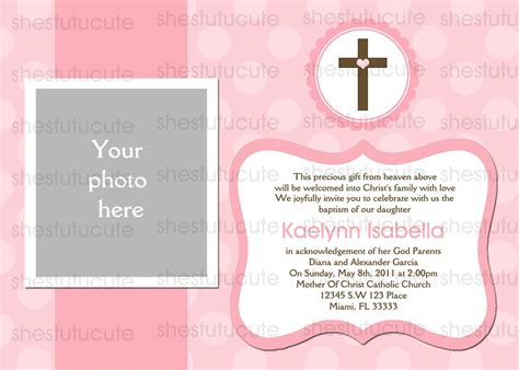 baptism invitation baptism invitation template baptism