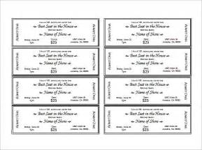 printable ticket template search results for raffle ticket template printable