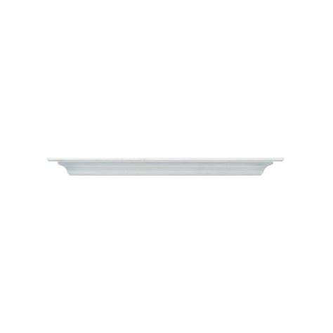 Mantel Shelf White by Pearl Mantels The Crestwood 6 Ft Mdf White Cap Shelf