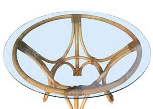 rattan bentwood dining table with restored rattan bentwood dining table with glass top