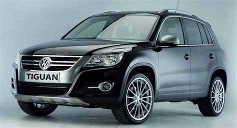 volkswagen gears up the tiguan suv with new line of styling accessories carscoops