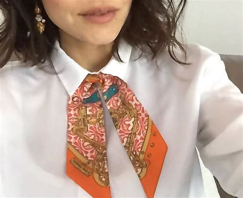 43 best ways to wear an hermes scarf images on