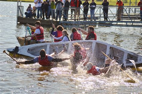 sinking boat race college of agriculture food and natural resources