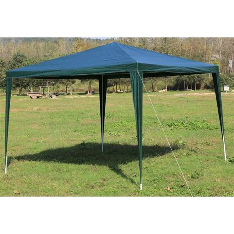 portable gazebo outdoor portable gazebo marquee tent in green 3x3m buy 3x3m