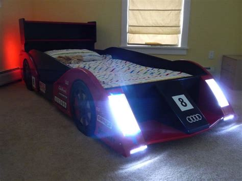 race car beds love the race car bed did you build from plans or design