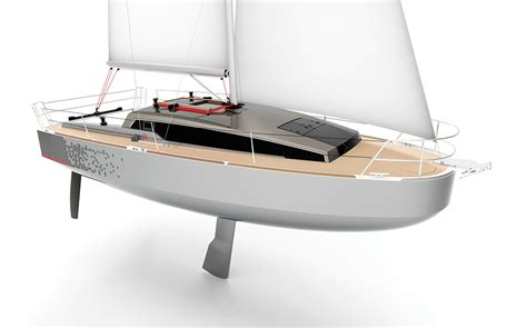 scow boat designs revolution 29 sailboat design review