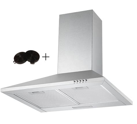 Cooker Extractor Fan Height Cookology Ch600ss Extractor Fan 60cm Chimney Cooker