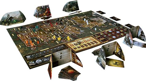 Spoils Of War Board a of thrones the board second edition