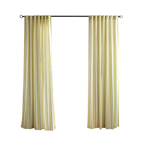 outdoor window curtains shop solaris 96 in l kiwi cabana stripe outdoor window