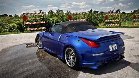 Nissan 350z Roadster Wallpapers HD Convertible, Blue Silver Black