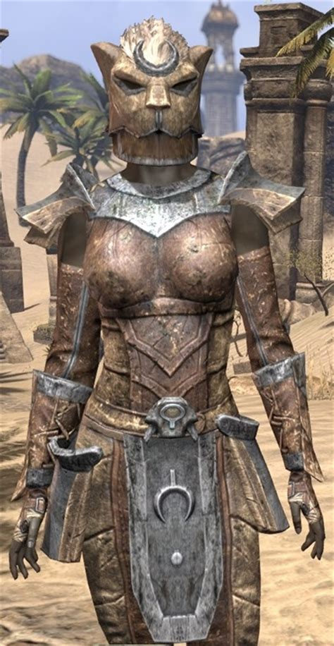 elder scrolls  khajiit steel eso fashion