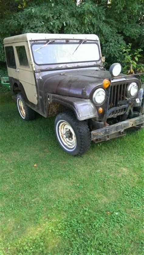Jeep With Plow For Sale Buy New 1967 Jeep Cj5 With Meyer Plow In Michigan City