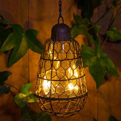 solar powered hanging lights outdoor solar pendant bulb hanging light by lilly