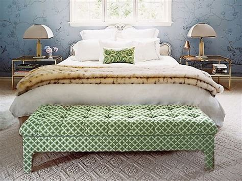 Ottoman For Foot Of Bed Bedroom Ottomans In 10 Stylish And Designs Https Interioridea Net