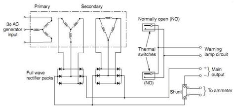 transformer rectifier wiring diagram efcaviation