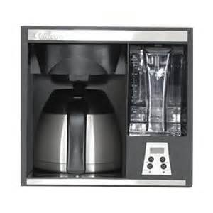 contoure coffee maker 10 cup cabinet wall or built