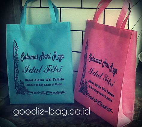 Goodie Bag Lebaran Ukuran Folio goodie bag lebaran idul fitri goodie bag murah