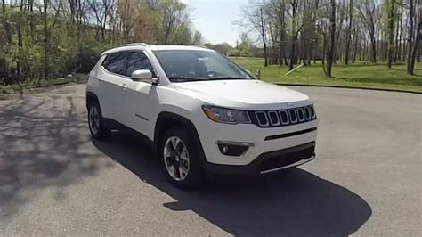 jeep compass sport white 2017 jeep compass limited 4x4 walk around video in depth