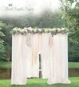 Wedding Backdrops Diy 5 Diy Wedding Ceremony Backdrop Ideas That Wow
