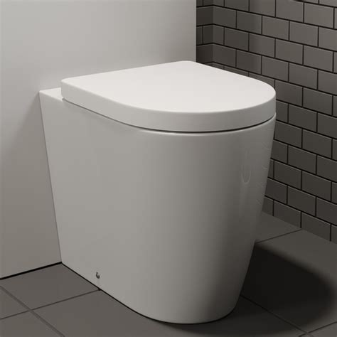 Plumb Back To Wall Toilet by Affine Bordeaux Back To Wall Toilet
