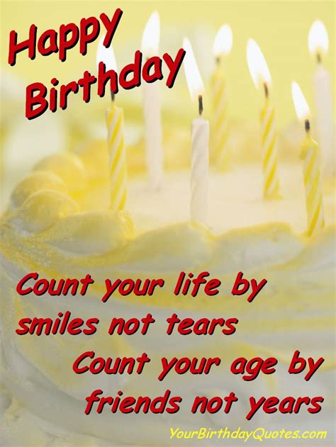 Birthday Wishes Quotes Great Birthday Quotes Yourbirthdayquotes Com