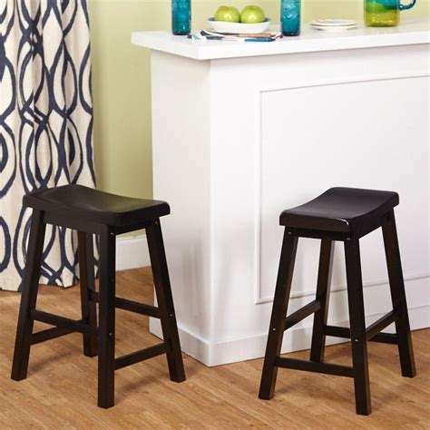 Belfast Saddle Stools 24 by Target Marketing Systems Set Of 2 24 Inch