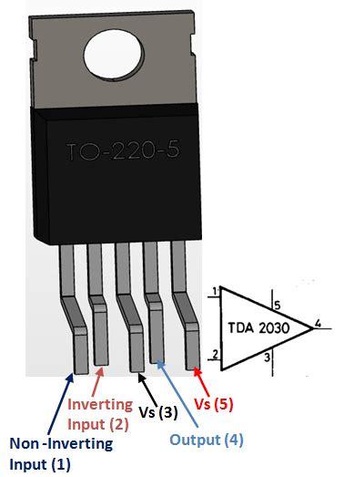 Tda2030a Tda2030 Tda 2030a Tda 2030 Ic Power Audio Lifier 20w Tda2030a Audio Lifier Pinout Features Equivalent