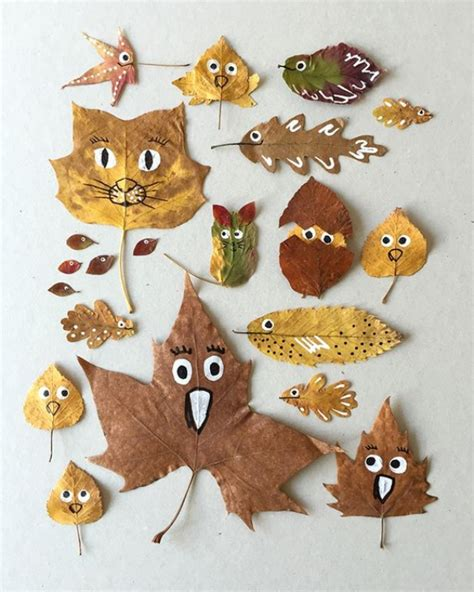 leaf craft projects 30 diy leaf projects for
